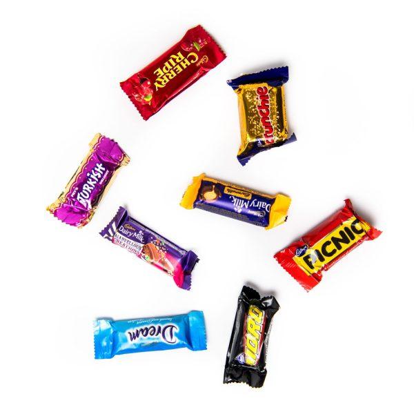 8 favourites chocolates.