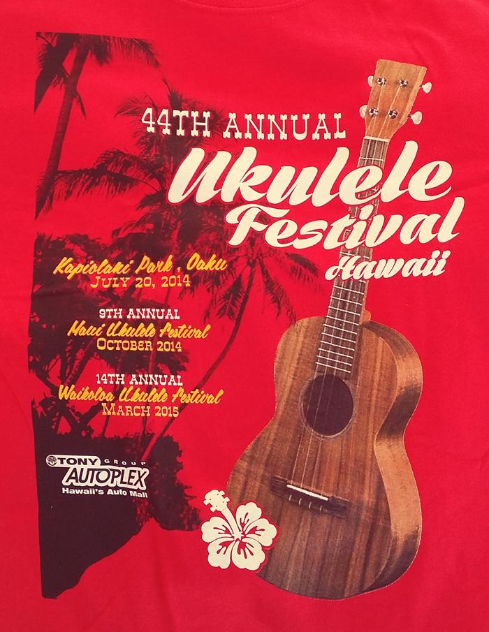 44th Annual Ukulele Festival Hawaii – Tasty Island