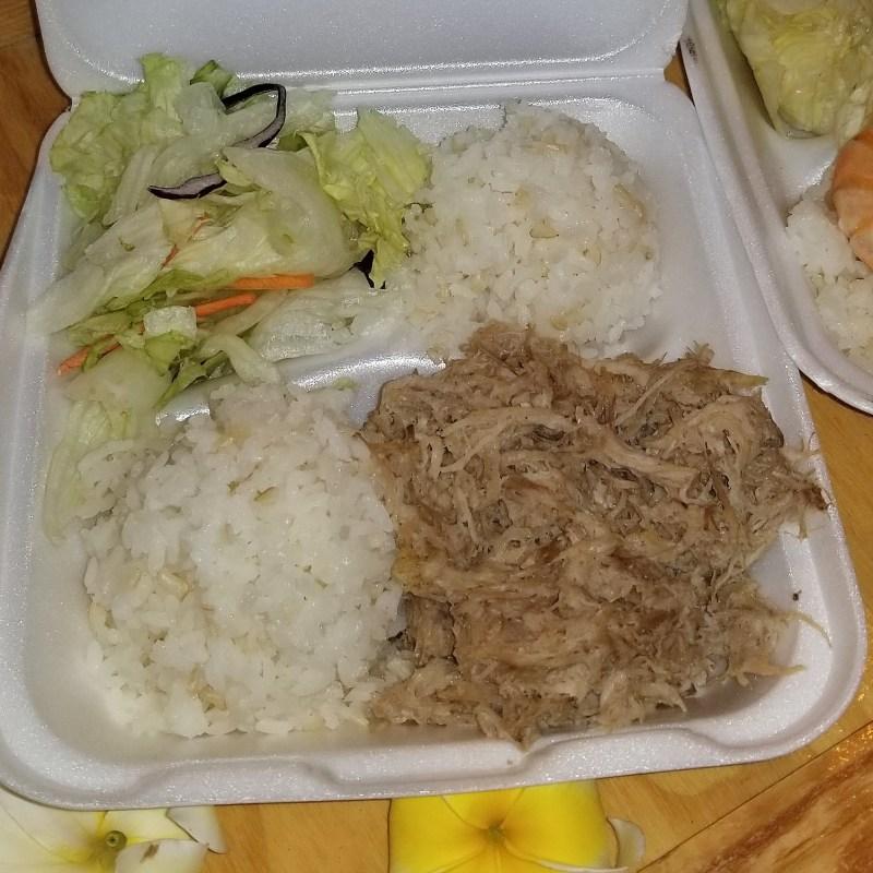 Mahoe's Hawaiian Delights Kalua Pig