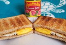 Peanut Butter, Guava Jelly & Fried Egg Sandwich