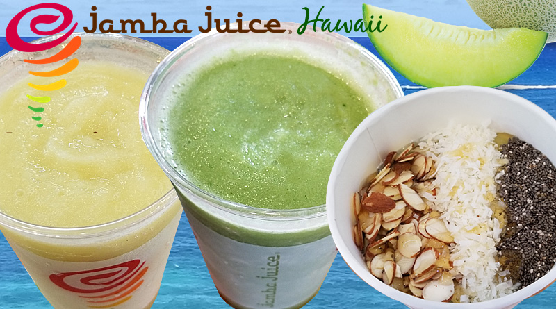 Honeydew This, Honeydew That. The Latest from Jamba Juice Hawaii