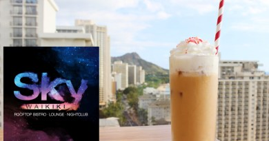 Sky Waikiki Winter Cocktails