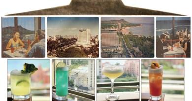 Top of Waikiki Throwback Cocktails