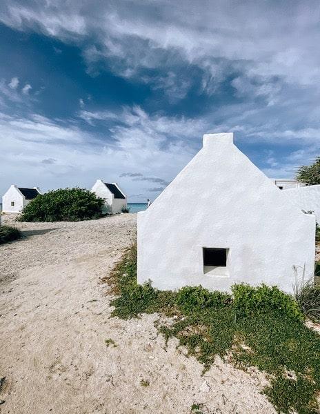 Old slave huts in Bonaire