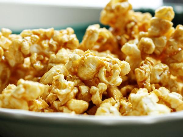 microwave popcorn caramel corn
