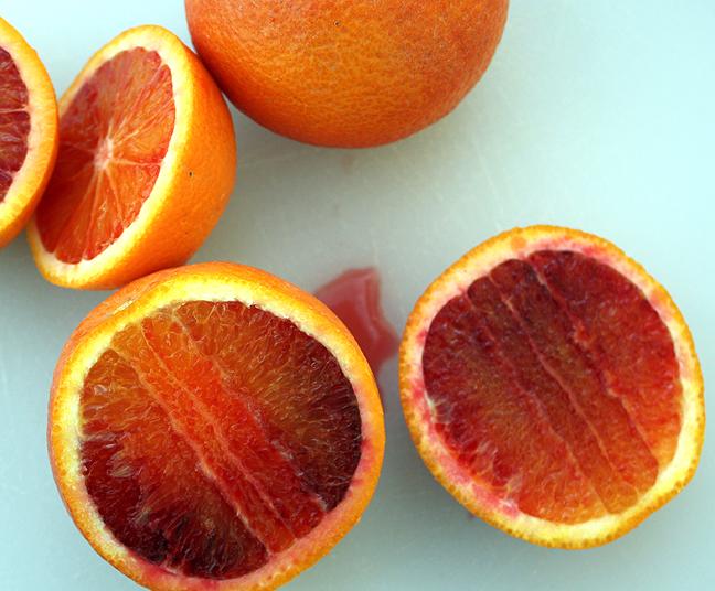 Blood orange tree; cultivation and varieties