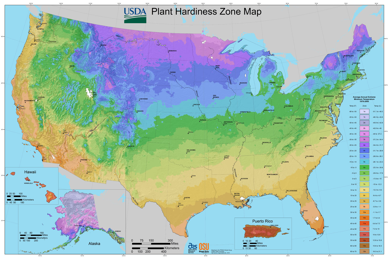 Climate Zones What Can I Grow In My Yard Tastylandscape