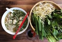 chicken pho meatballs, tasty little dumpling