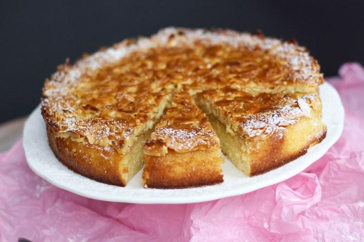 Toscakaka – Skandinavischer Mandel-Karamell Kuchen