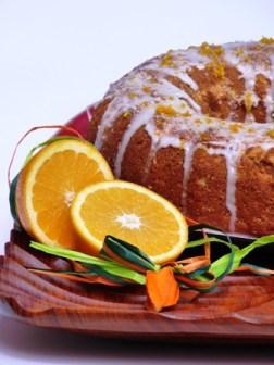 Orangen Babka – Polnischer Napfkuchen