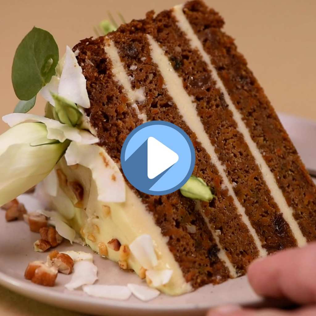 Mother's Day Swiss Carrot Cake