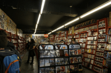 Comic book store at Camden Market