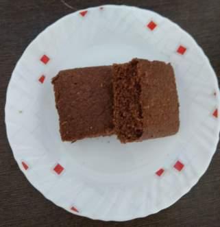 Oats chocolate cake