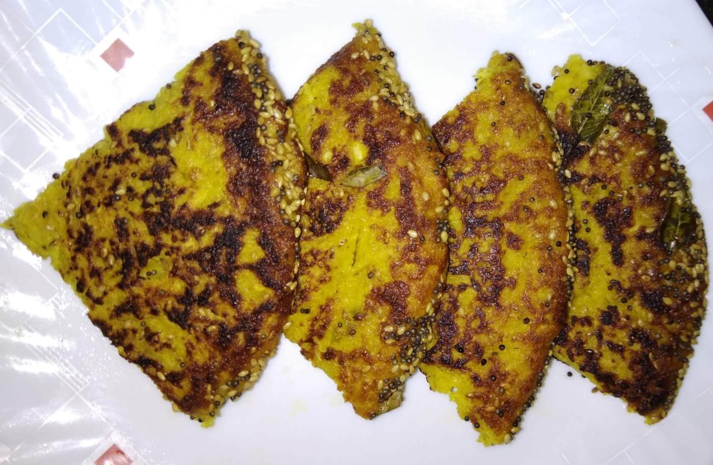 Indian Savoury Cake(Handva)