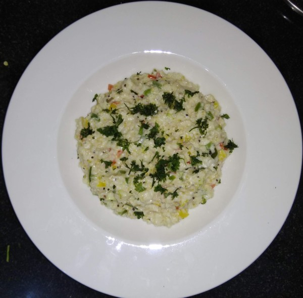 broken wheat(Dalia upma)
