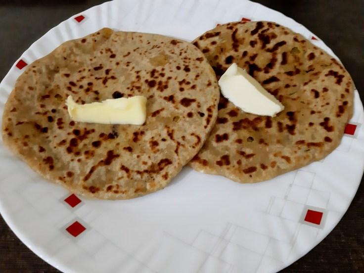Chole chana paratha