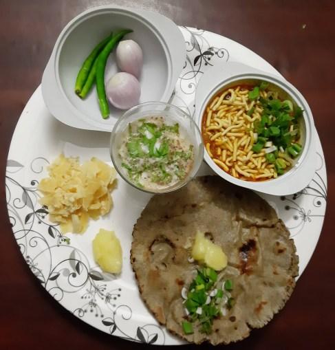 Dungri Gathiya nu shaak