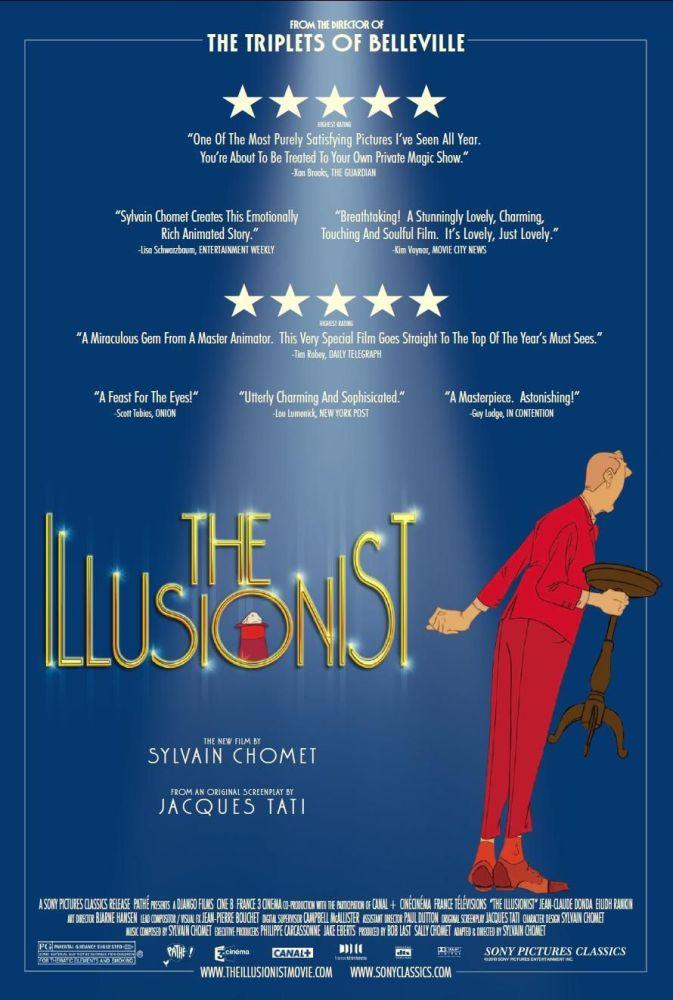 Movie Review - L'Illusionniste (The Illusionist) (1/6)