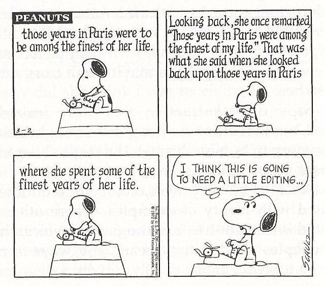 My favourite comic strip - Peanuts (6/6)