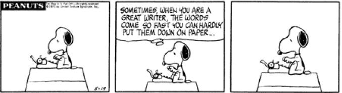 My favourite comic strip - Peanuts (1/6)
