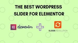 The Best WordPress Slider For Elementor