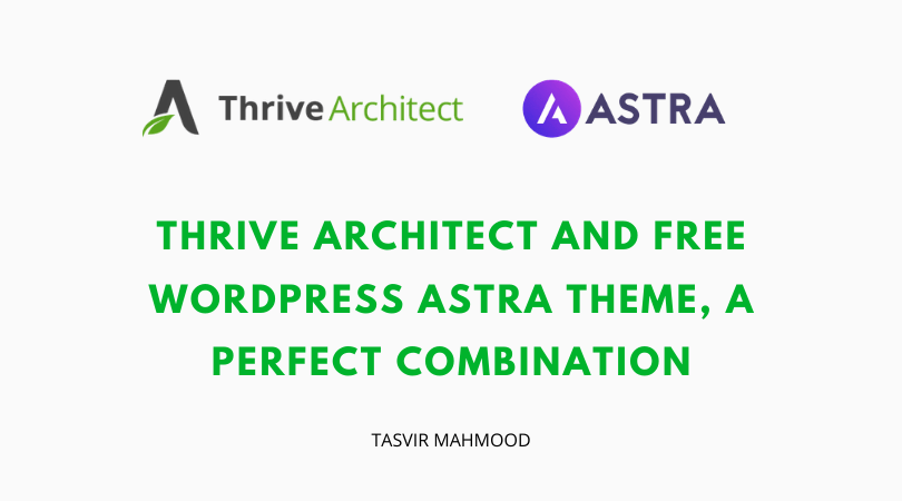 thrive-architect-and-free-astra-wordpress-theme