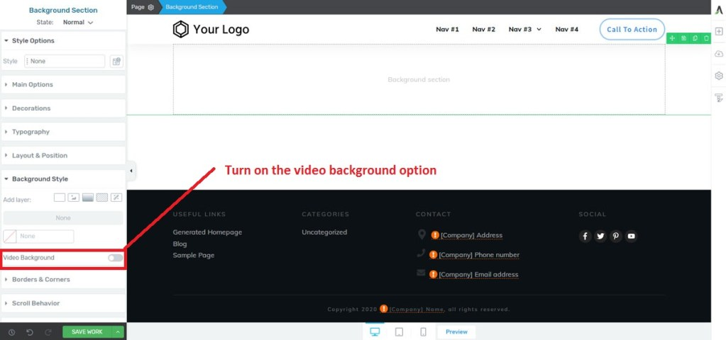 video-background-option-in-thrive-architect