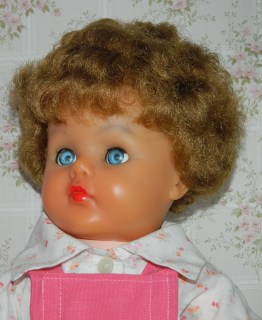 Christine, my childhood walking doll.