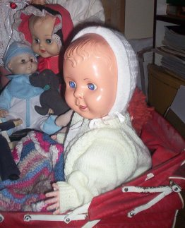 My first baby doll Theresa