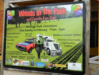 An upcoming event in a local park.