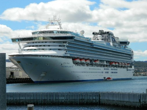 Diamond Princess, Hobart