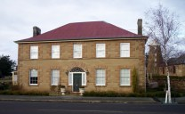 Georgian era building Oatlands