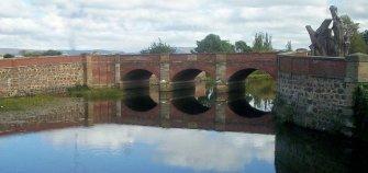 The Red Bridge, convict built bridge, Campbelltown Tasmania