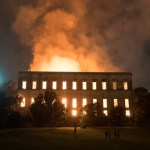 Protesters Gather After Fire Devastates Historic Brazilian Museum