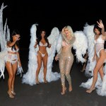 See Pictures of Halloween Inspired Dresses By The  Kardashian Sisters