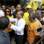 Maldives Ex-president Returns from Exile