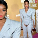 See What Singer Janelle Monae Wore To Billboard Women In Music Award (Photos)
