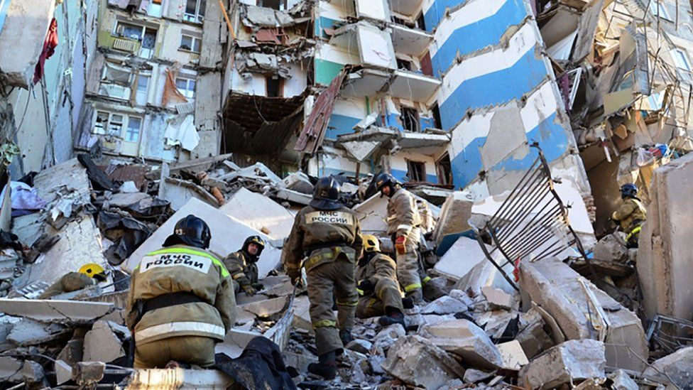 Magnitogorsk: Rescuers found Baby alive after block of flats explosion