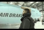 Rapper Drake Acquires Multi-Billion Naira Customized Private Jet - Video
