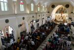 Sri Lanka churches hold first Sunday Mass since Easter bombings