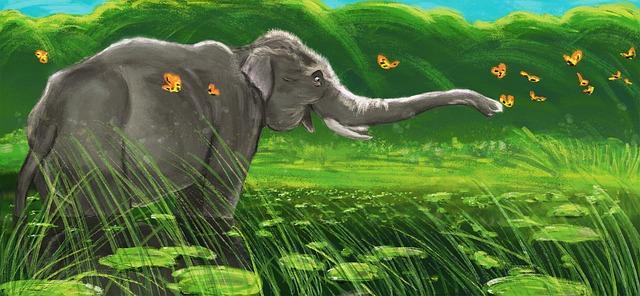 Agata Karpińska - Zakochany słoń; Czyta #TataMariusz