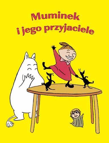Muminek i jego przyjaciele; #TataMariusz; Fot. w.bibliotece.pl