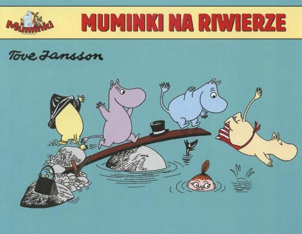 Muminki. Muminki na Riwierze #TataMariusz; Fot. w.bibliotece.pl