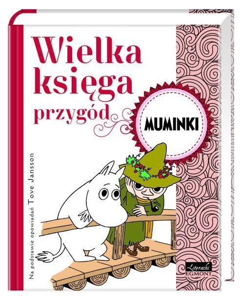Opowieści na dobranoc. Muminki - Wielka księga przygód; #TataMariusz; Fot. w.bibliotece.pl