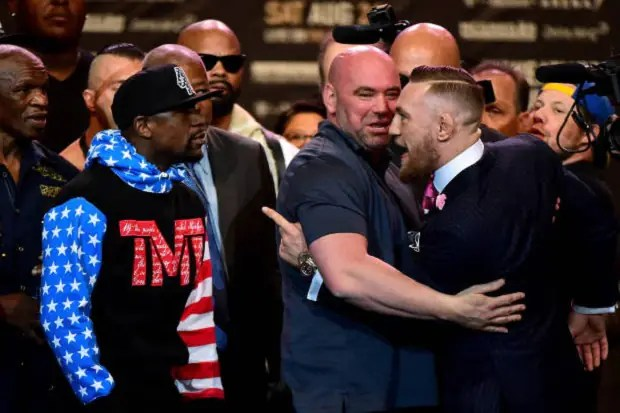 Conor McGregor Floyd Mayweather (Foto: Getty Images)