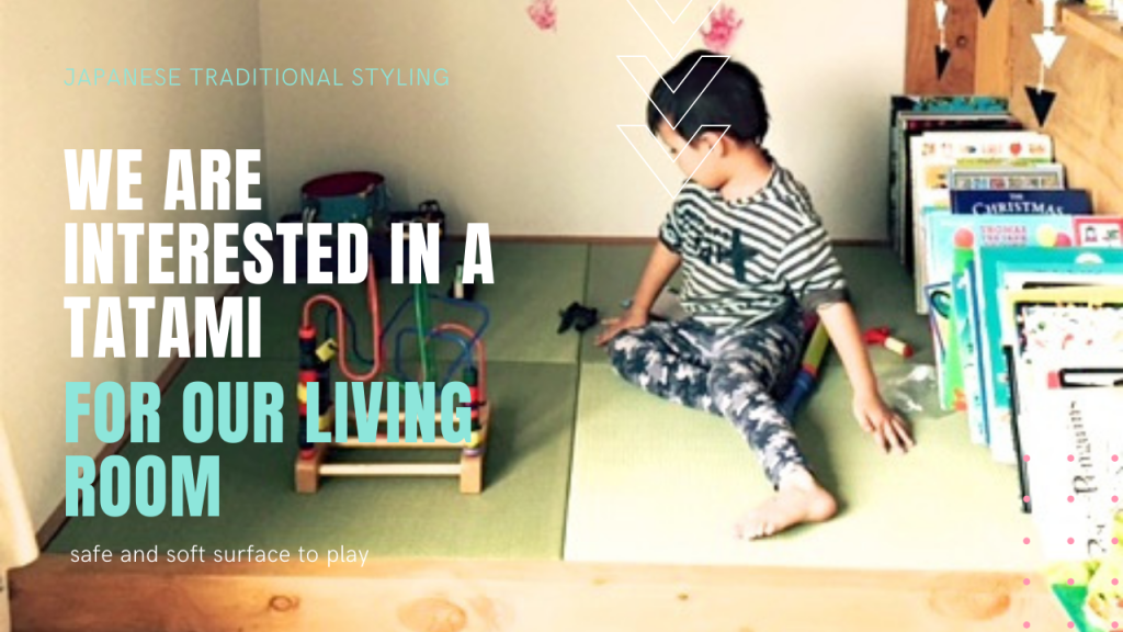 The cushioning of the tatami mat is neither too hard nor too soft.
