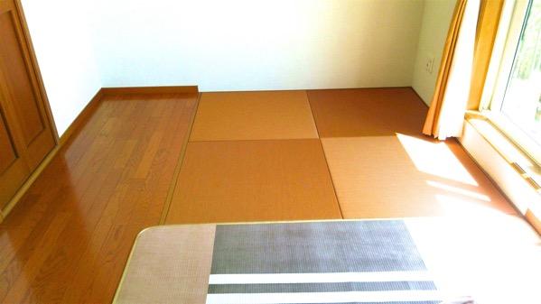 ブラウンの畳