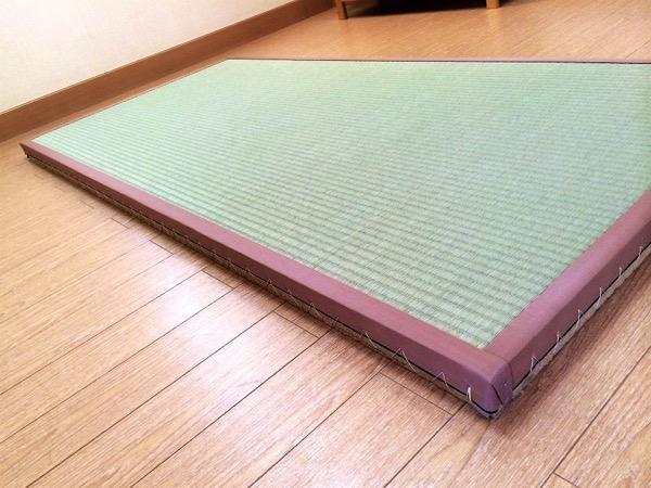 畳の角の補強