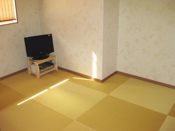 テレビ 畳