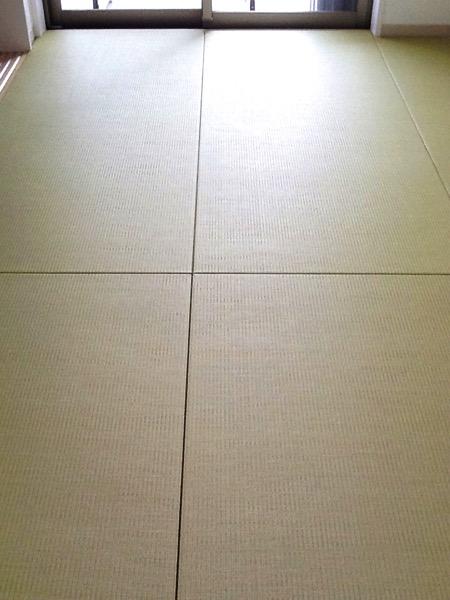 床暖房の畳部屋